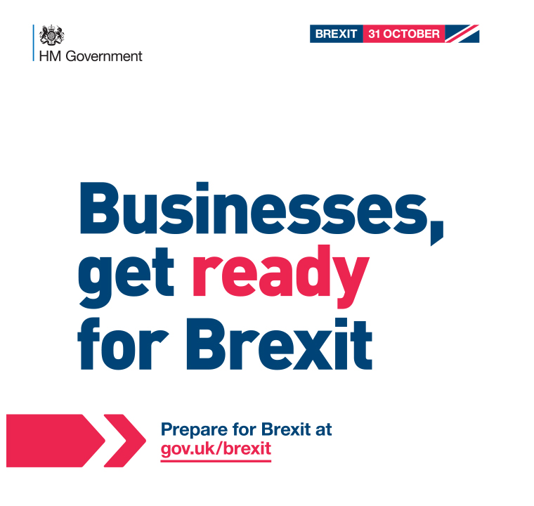 "The ""Get ready for Brexit"" campaign's print materials reached 26 million daily readers."