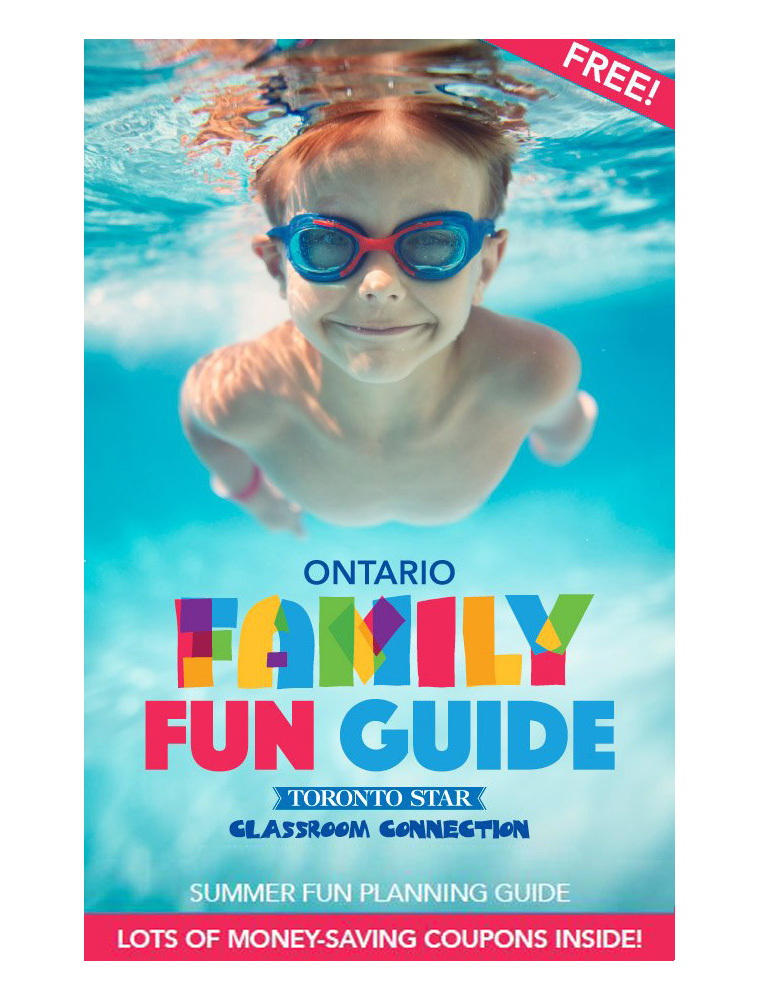 The Family Fun Guide offered value for readers and advertisers.