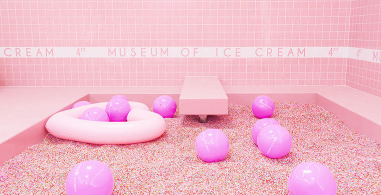 Creators of the Museum of Ice Cream recognise the power of experience.