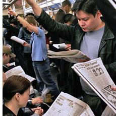 research reading newspaper habits Because of her online reading habits,  reading in print even gave us a remarkable ability to remember where  there is some intriguing research that looks at.