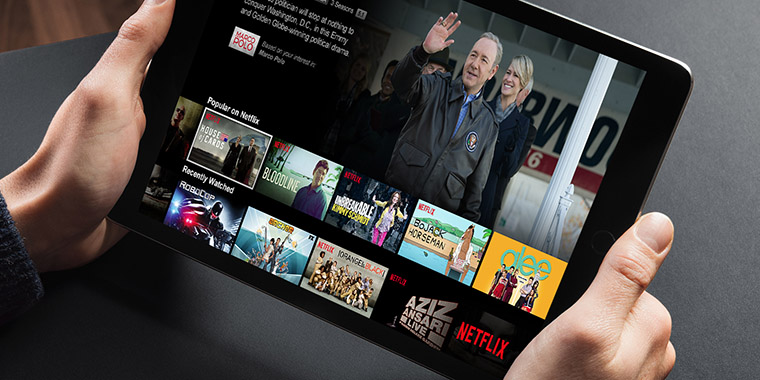 Netflix subscription rates have been slowing, a trend that publishing companies have been dealing with for some time.