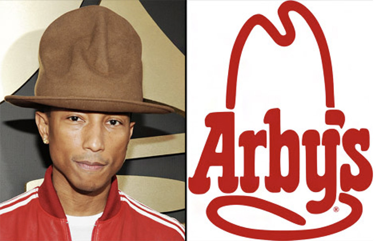 The marketing team at Arby's was empowered to engage with celebrity Pharrell Williams.