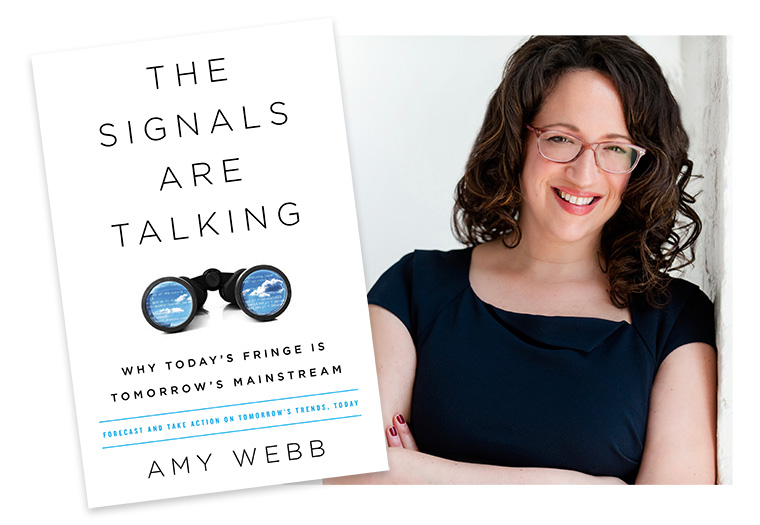 Futurist Amy Webb noted the importance of being open to trends at this year's INMA World Congress.