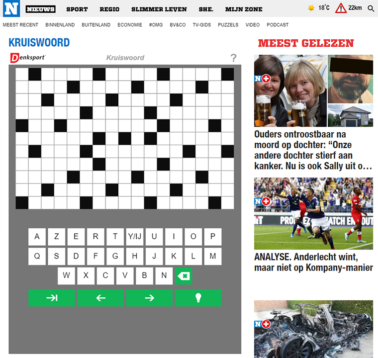 Subscribers want newsy articles and entertainment like crossword puzzles.