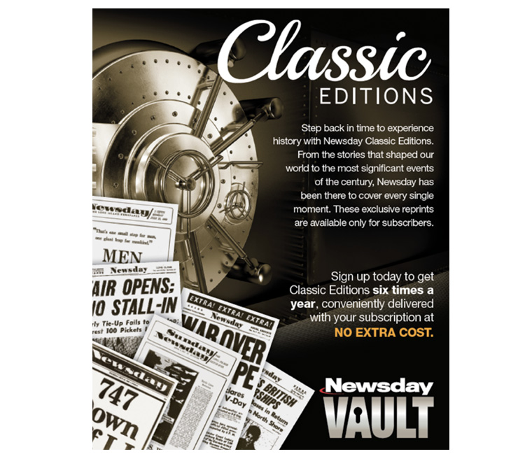 The introduction of classic editions of the publication have been a big hit with the Newsday community.