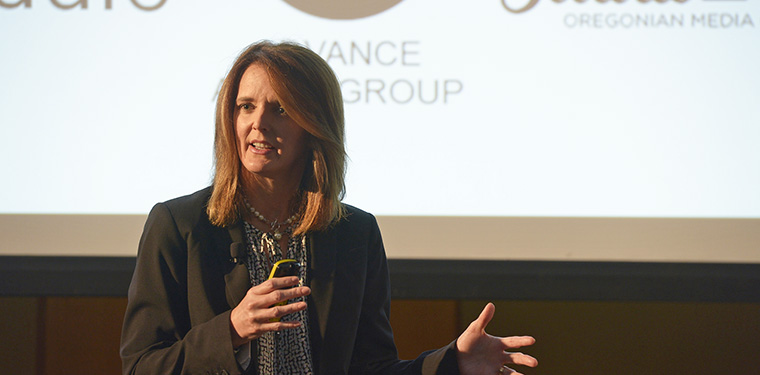 Pam Sliddall, executive vice president of Advance Local, explains how the company successfully disrupted itself.