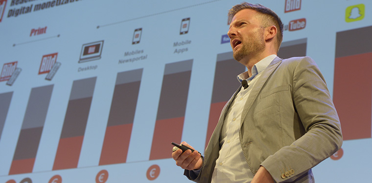 Tobias Henning, general manager/premium for Bild, talks paywalls with INMA World Congress.
