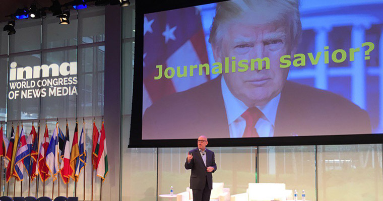 INMA Executive Director/CEO Earl J. Wilkinson offers his new perspective on the U.S. president.