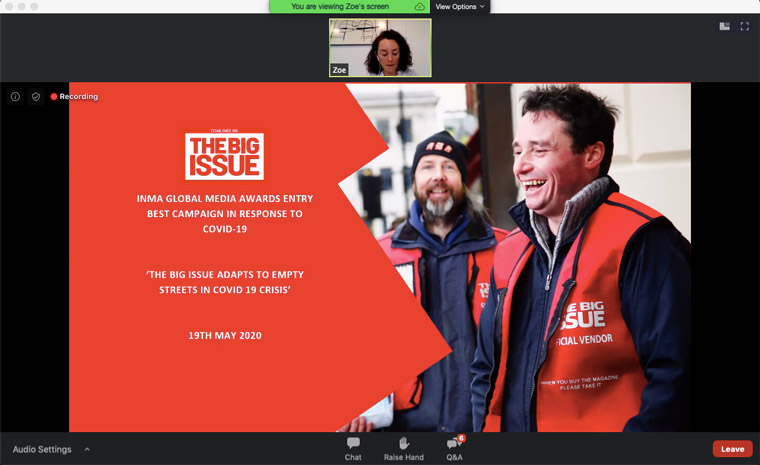 The Big Issue had to rethink everything after its vulnerable vendors weren't allowed to distribute the weekly magazine because of the lockdown.