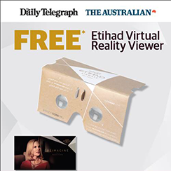 Flying Reimagined – Etihad A380 Virtual Reality Campaign