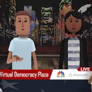 Virtual Democracy Plaza