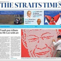 The Straits Times : Reinventing Archive Sales