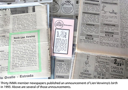 INMA member newspaper clippings.