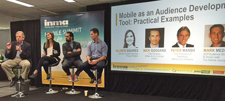 INMA Mobile Summit benchmarks mobile consumption, success, and cultural underpinnings of modern media companies