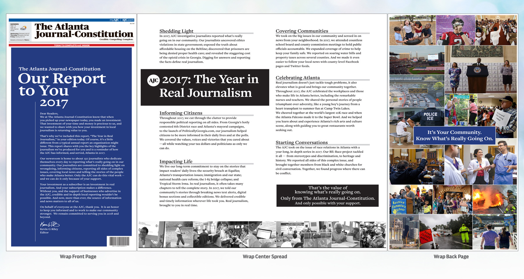 "Subscribers love Atlanta Journal-Constitution's ""The Year in Real Journalism"" campaign"