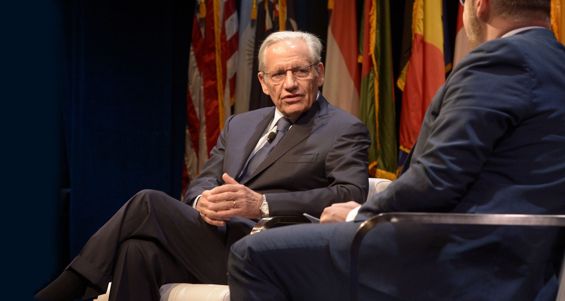 Bob Woodward shares lessons of Watergate in the Trump era