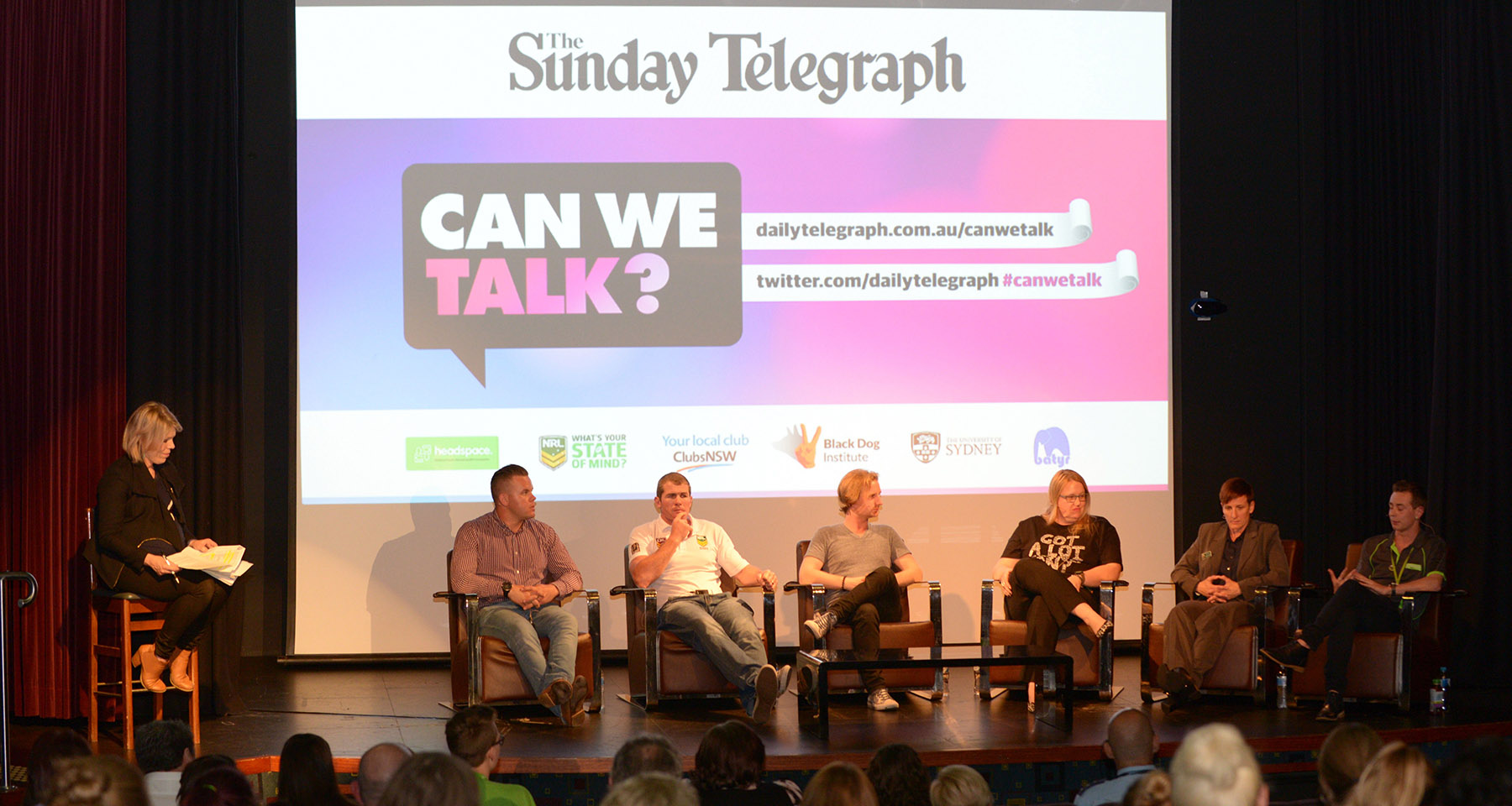 Sunday Telegraph breaks youth mental health stigma with forums, content