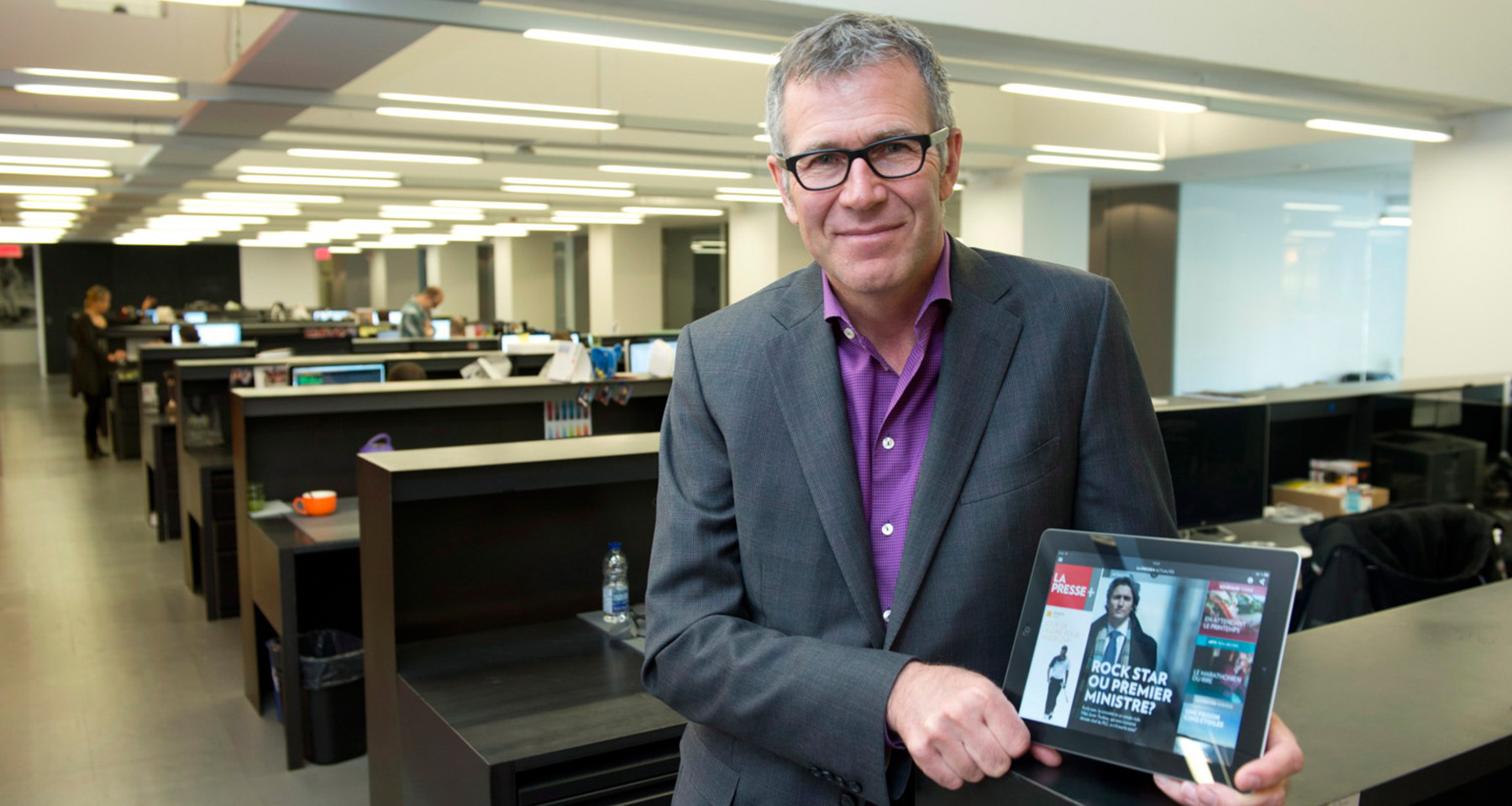 La Presse sees print-comparable ad rates 5 months after ending weekday print product