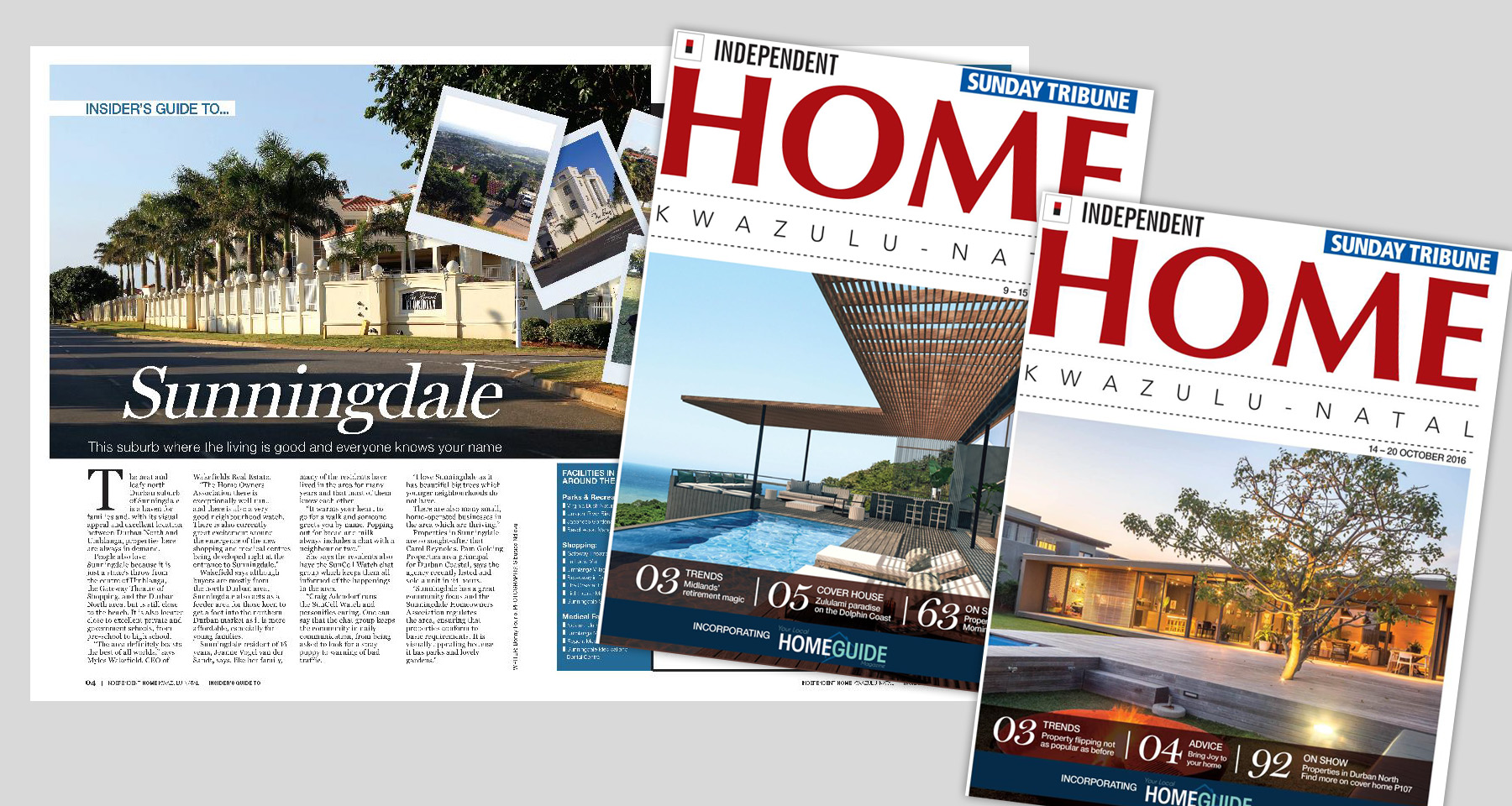Independent Media glossy magazine reclaims real estate market share