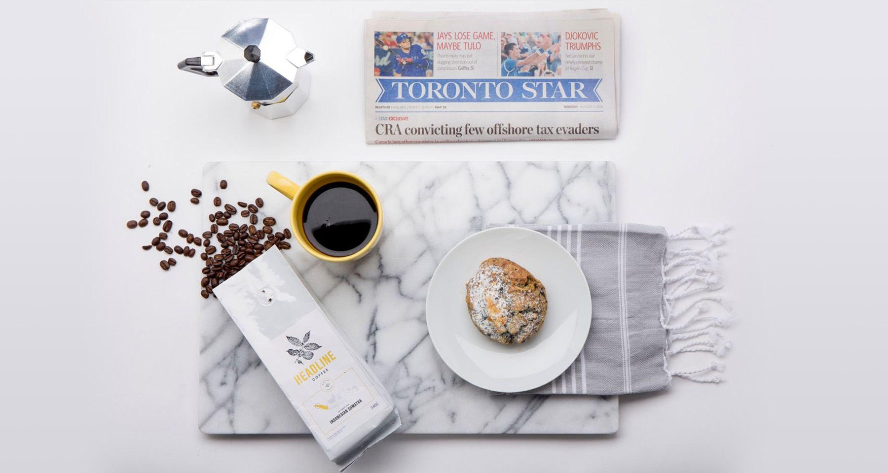 Toronto Star brews up new revenue with Headline Coffee