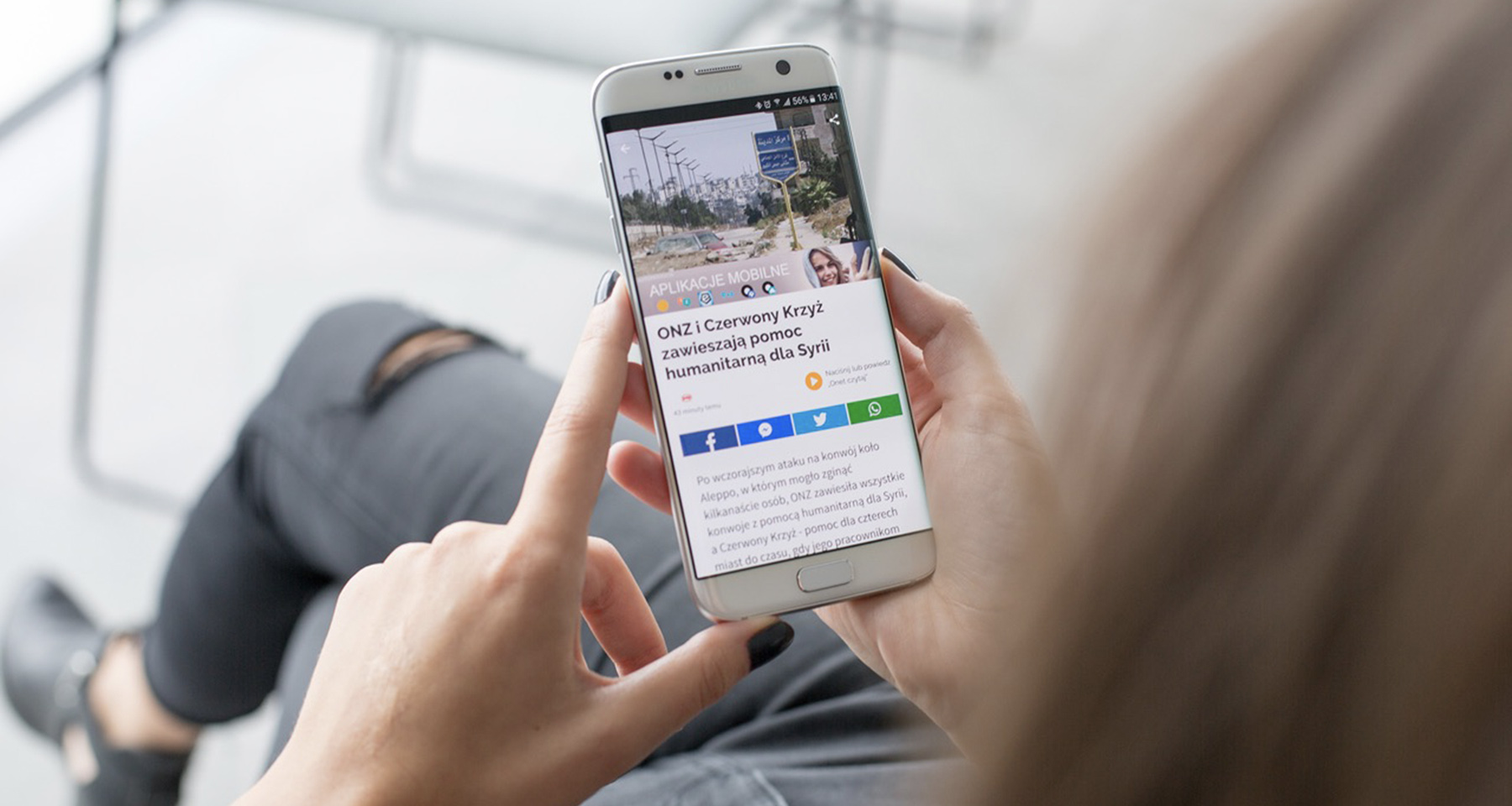 Onet revamps mobile news app with voice control feature