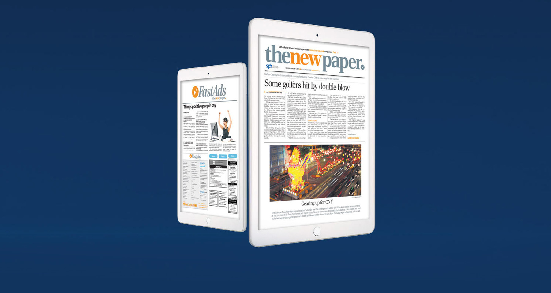 Singapore Press Holdings appeals to print subscribers with The New Paper app