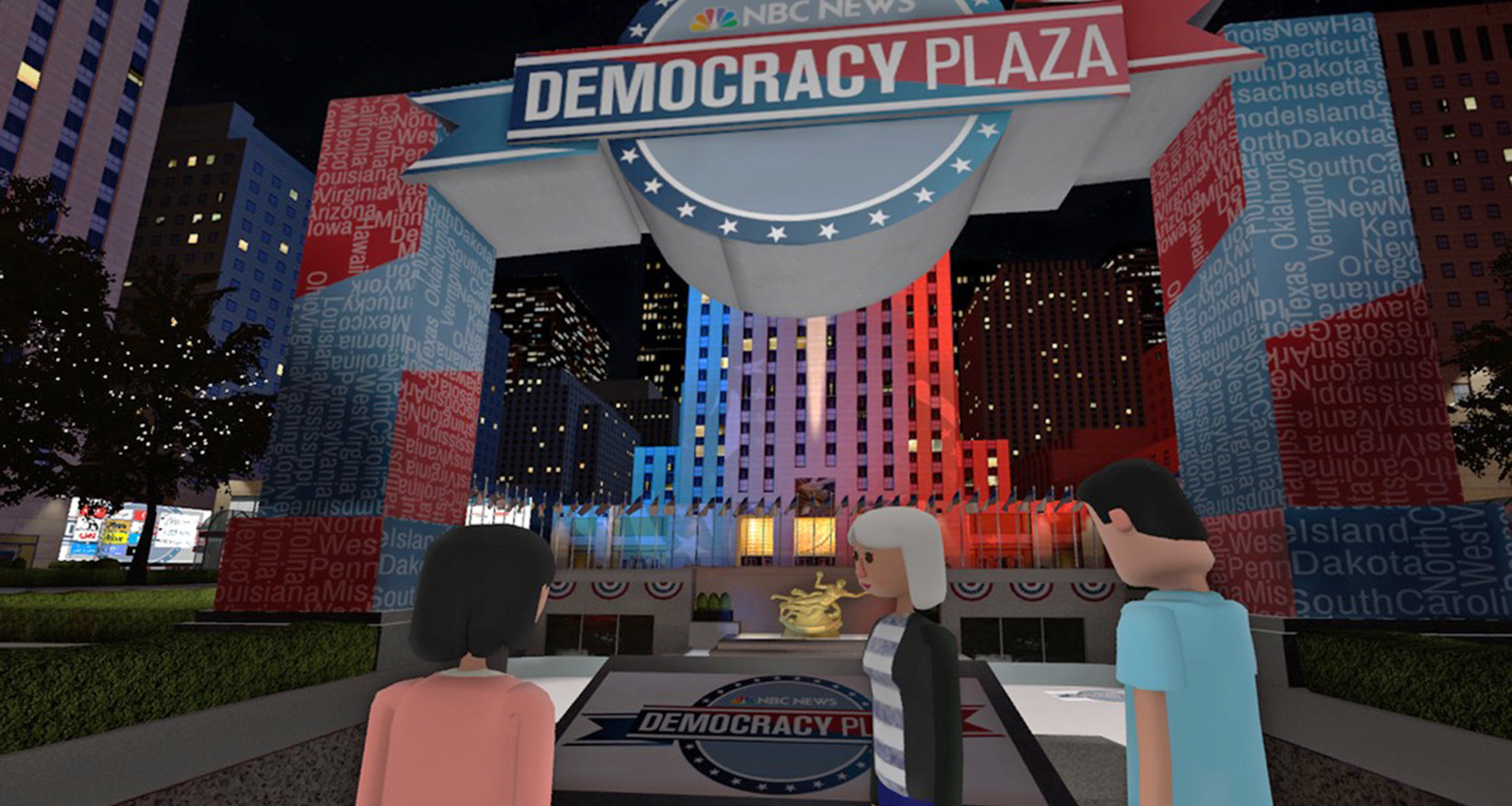 NBC's virtual election coverage engages worldwide audience
