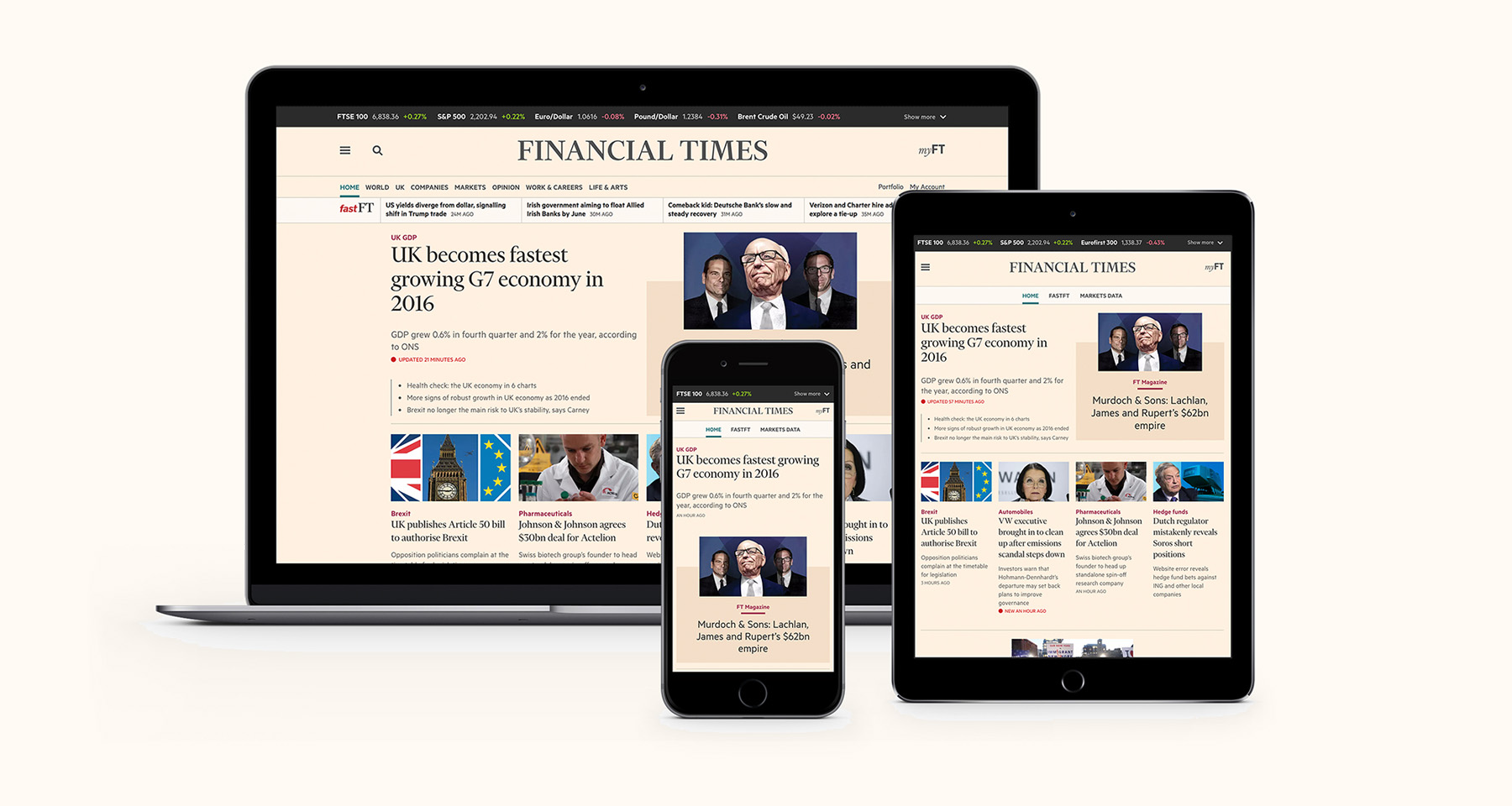 Financial Times increases engagement with personalisation, speed