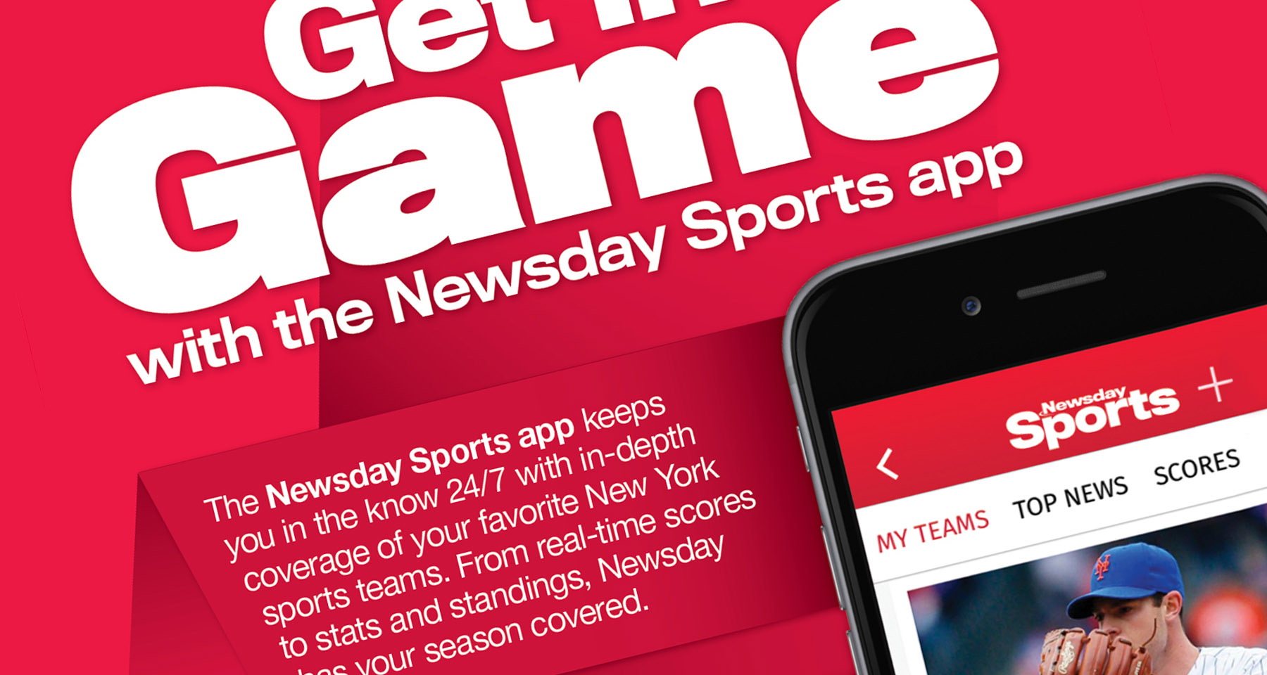 Newsday courts super fans with new Sports app