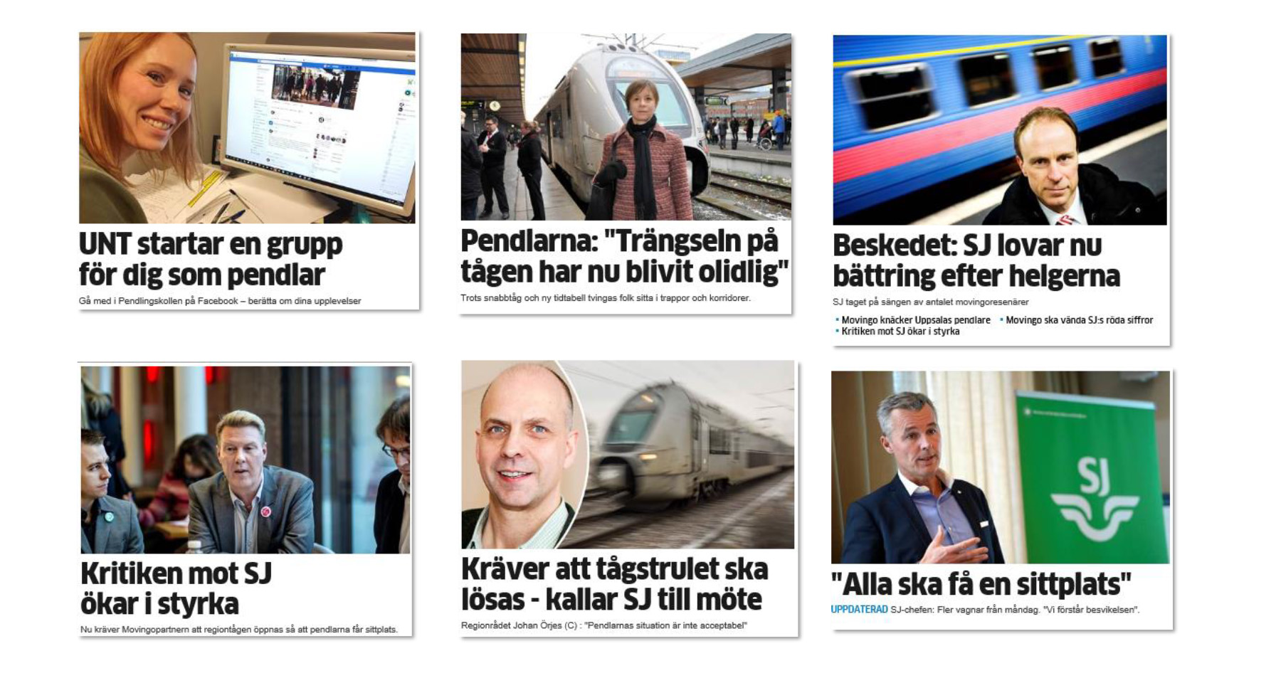 Upsala Nya Tidning builds Facebook group for commuters