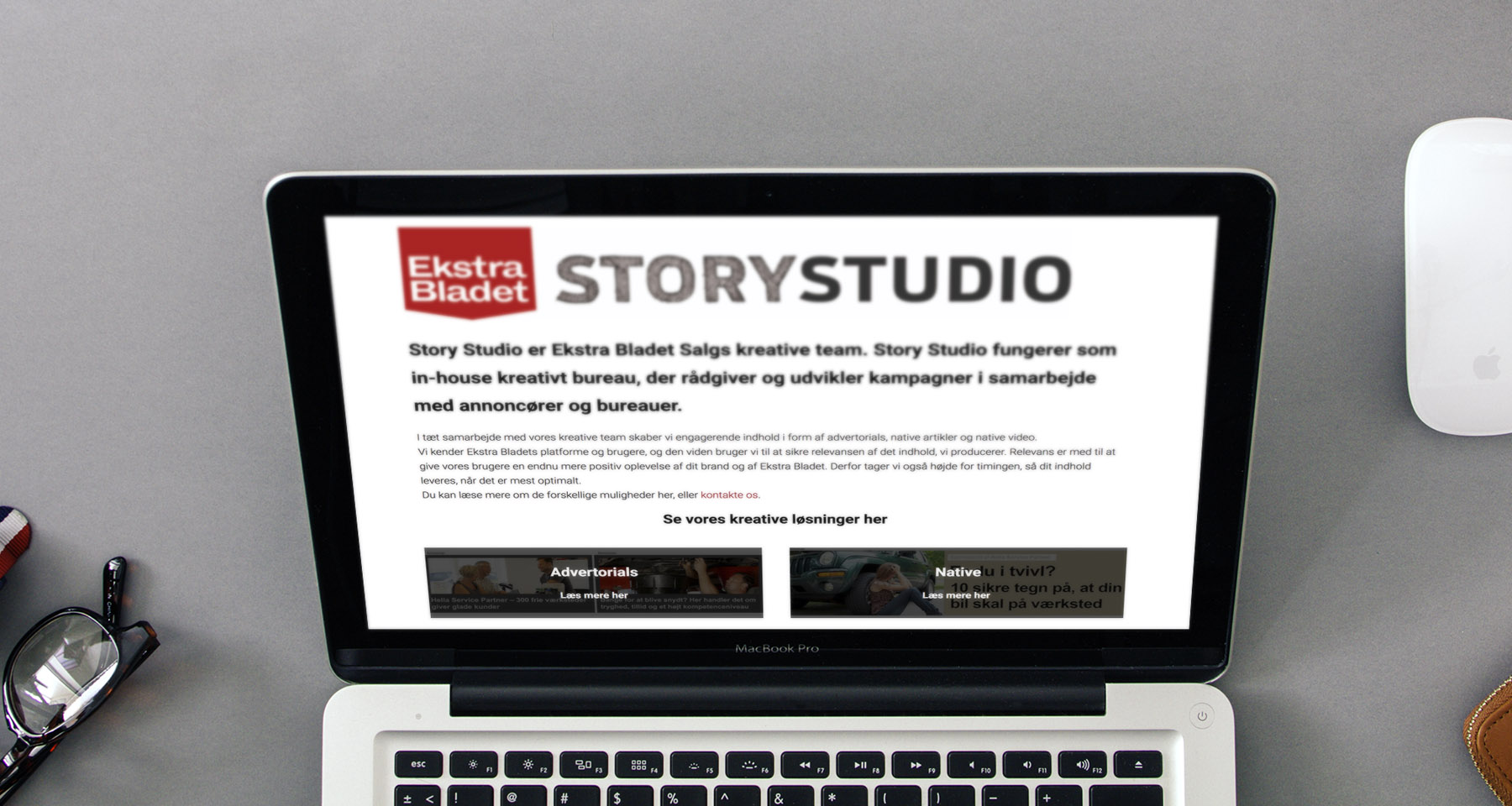 Ekstra Bladet Story Studio campaign demonstrates power of native advertising