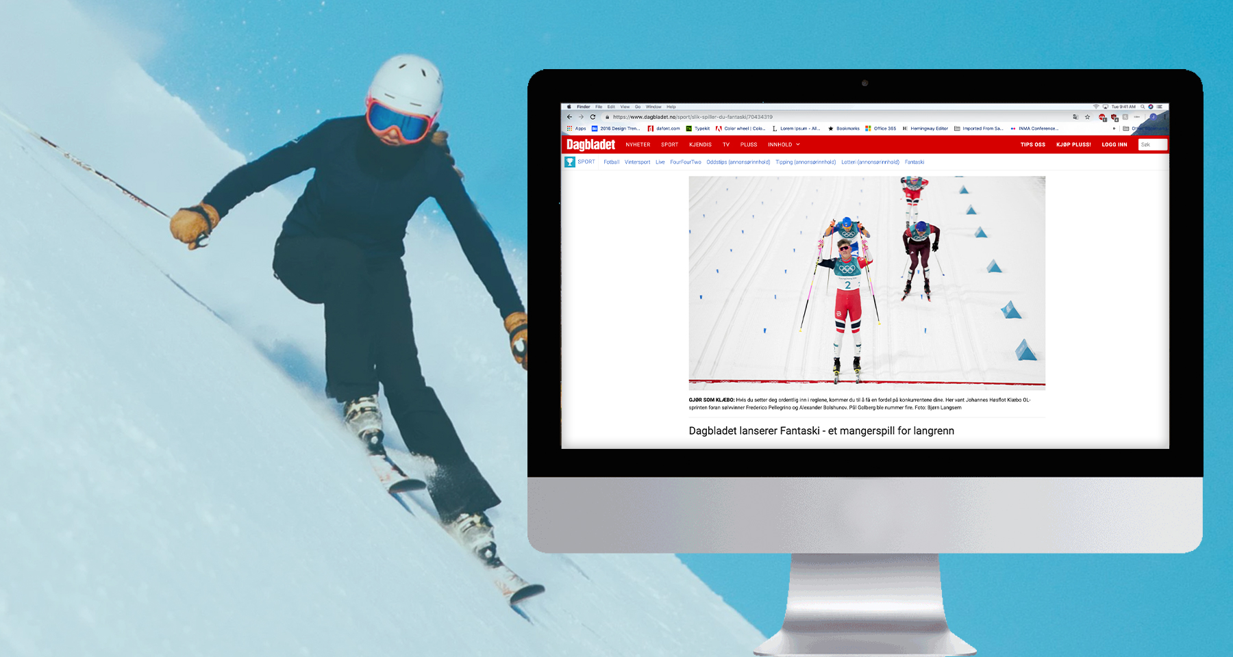 Dagbladet attracts skiing-obsessed audience with fantasy league
