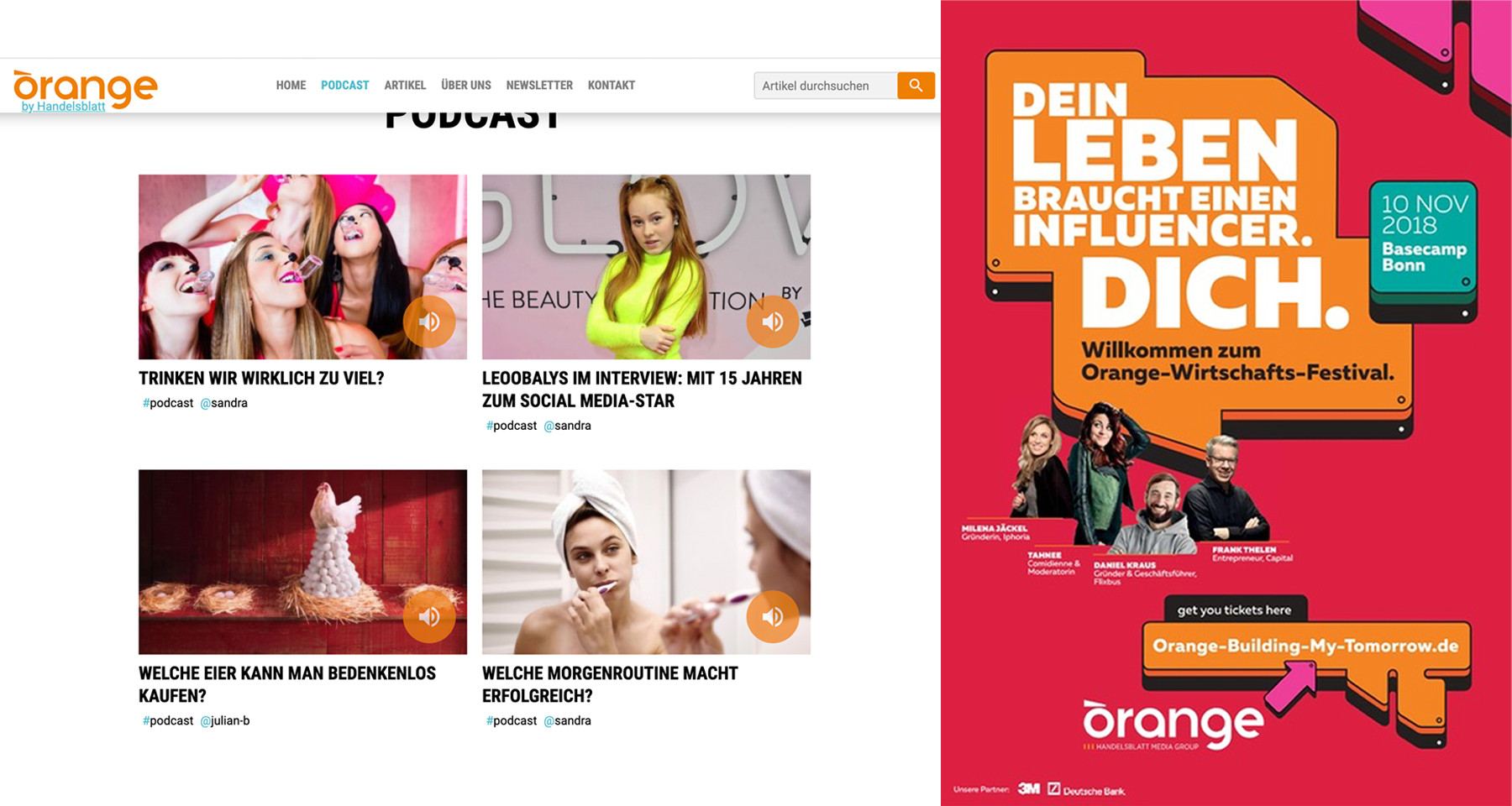 Handelsblatt launches print spin-off from successful youth portal