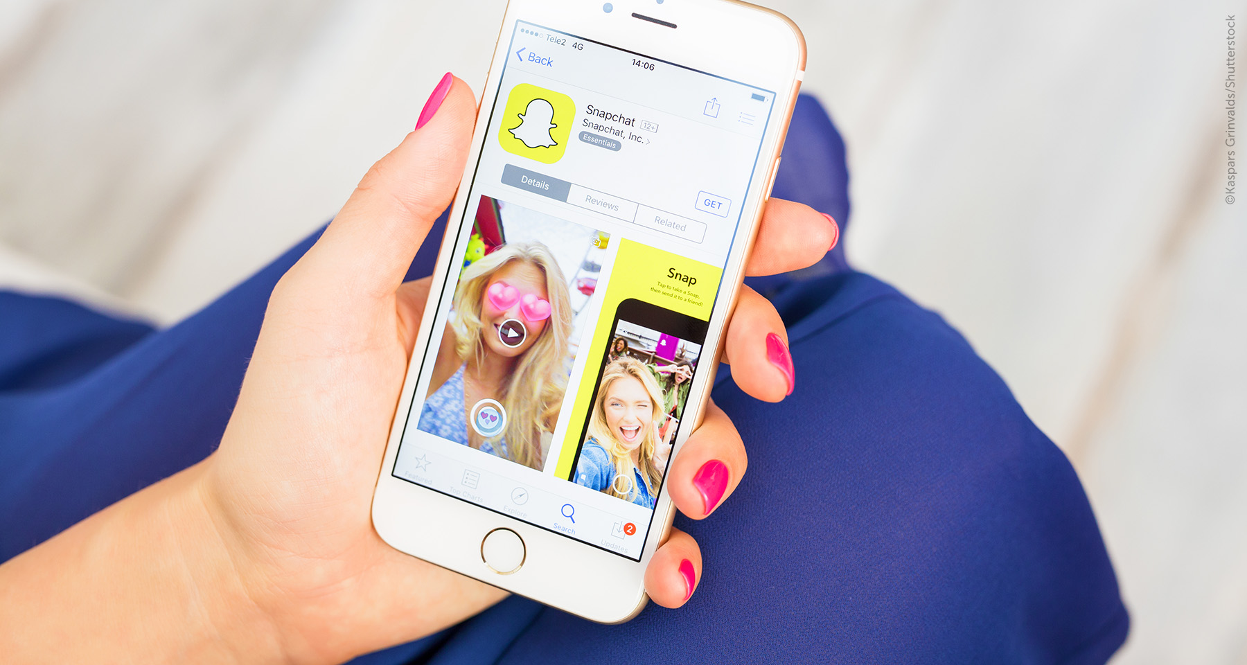 Snapchat, Miranda Kerr, and investment in innovation