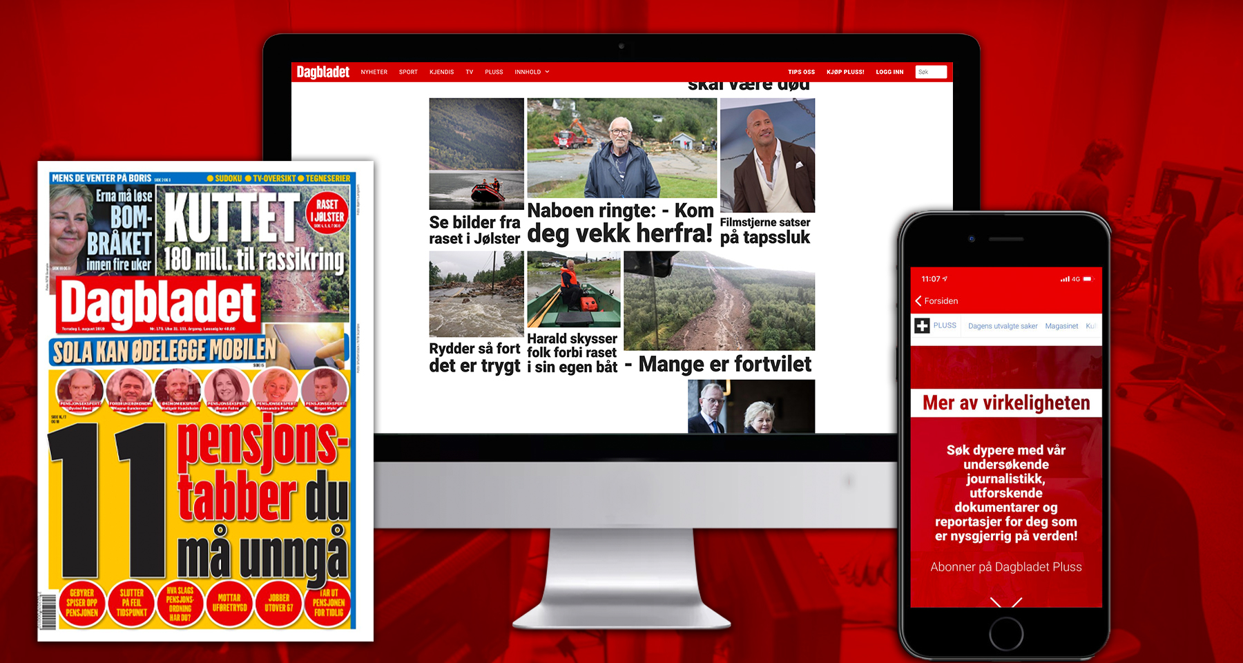 Dagbladet sees WebTV as a lucrative audience engagement platform
