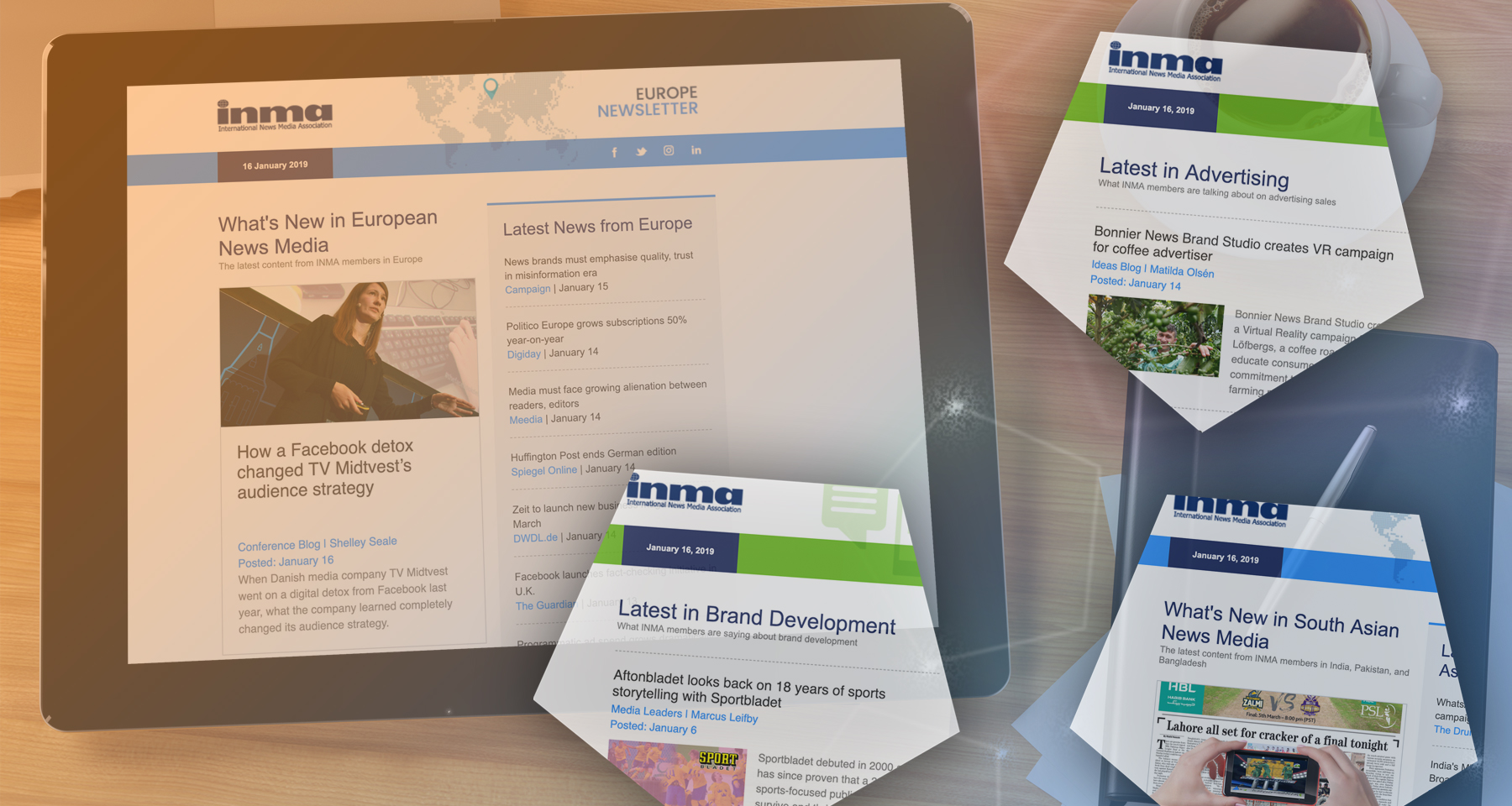INMA launches 17 niche newsletters for members