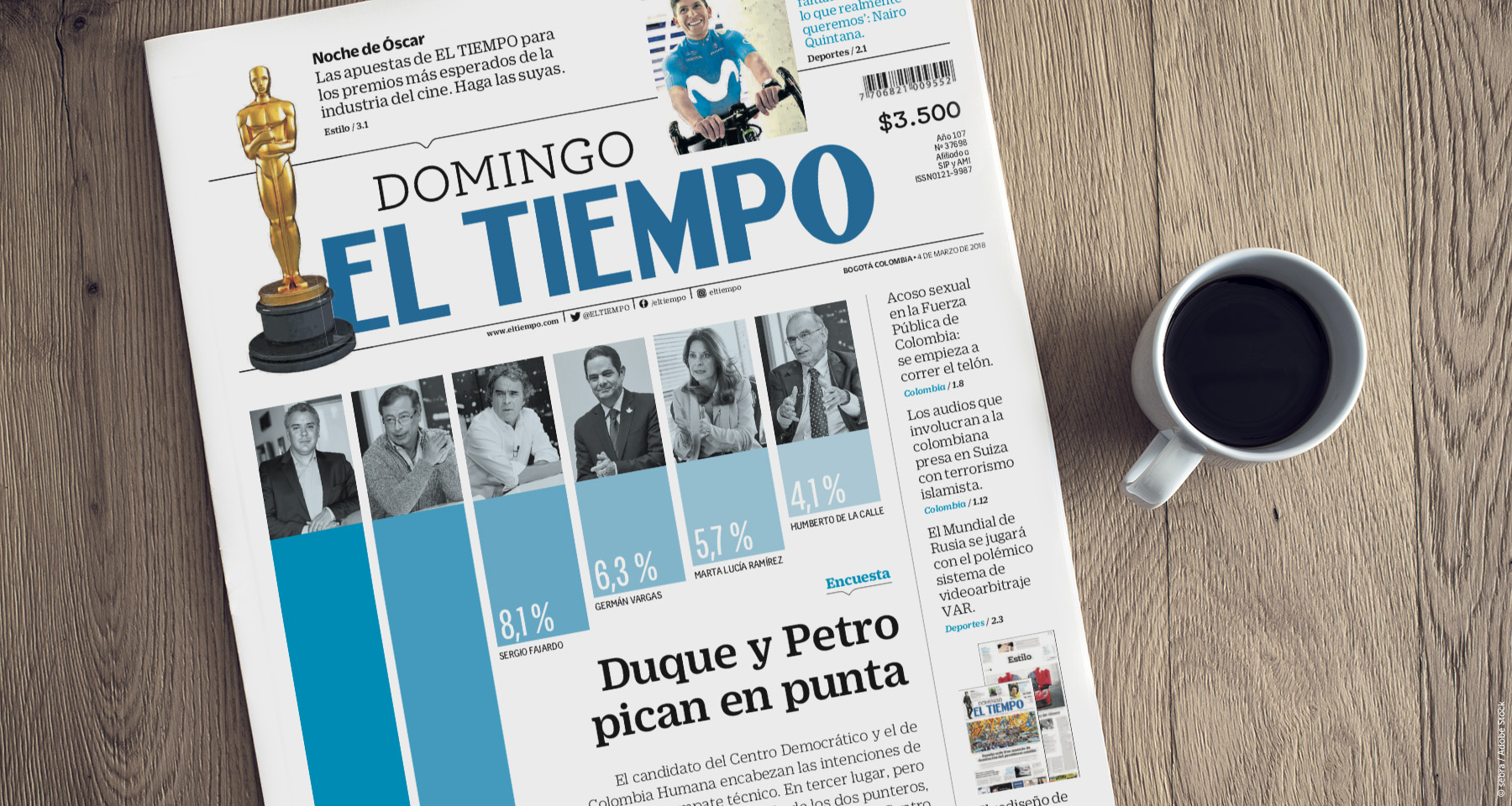 El Tiempo boosts print subscriptions with research-based redesign