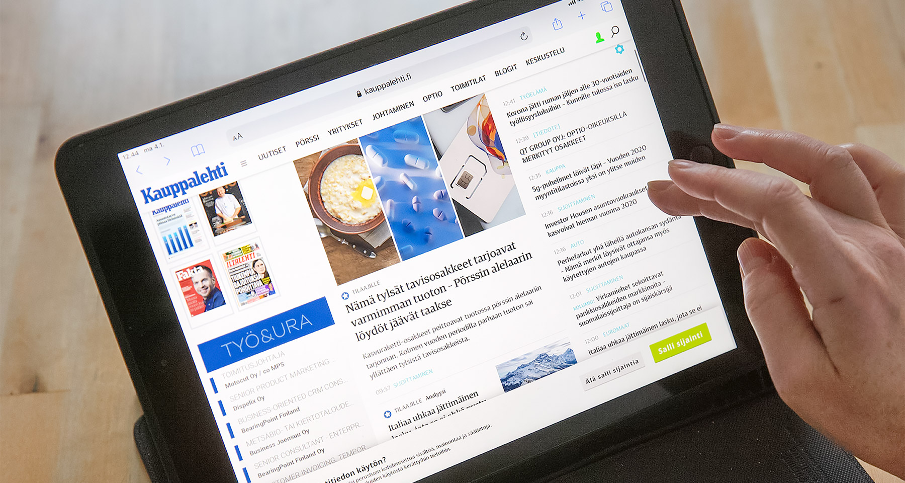 Personalised product recommendations increase subscriber engagement at Kauppalehti