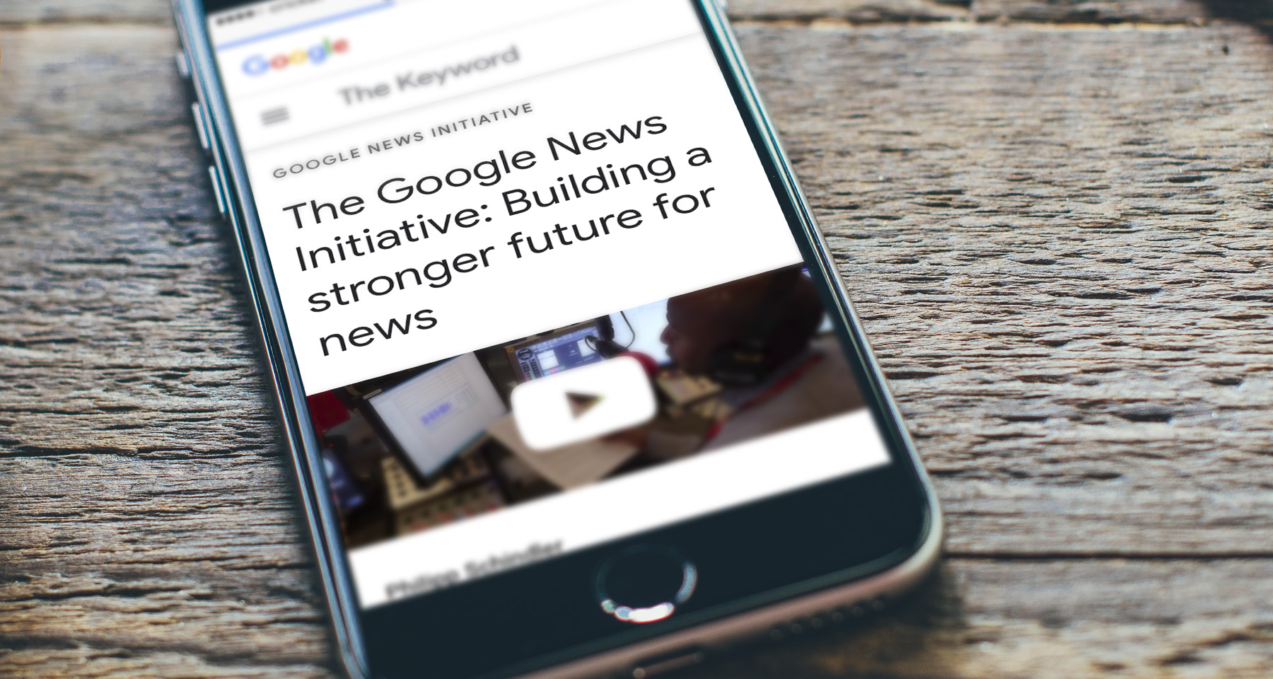 Distilling the rollout of Google News Initiative