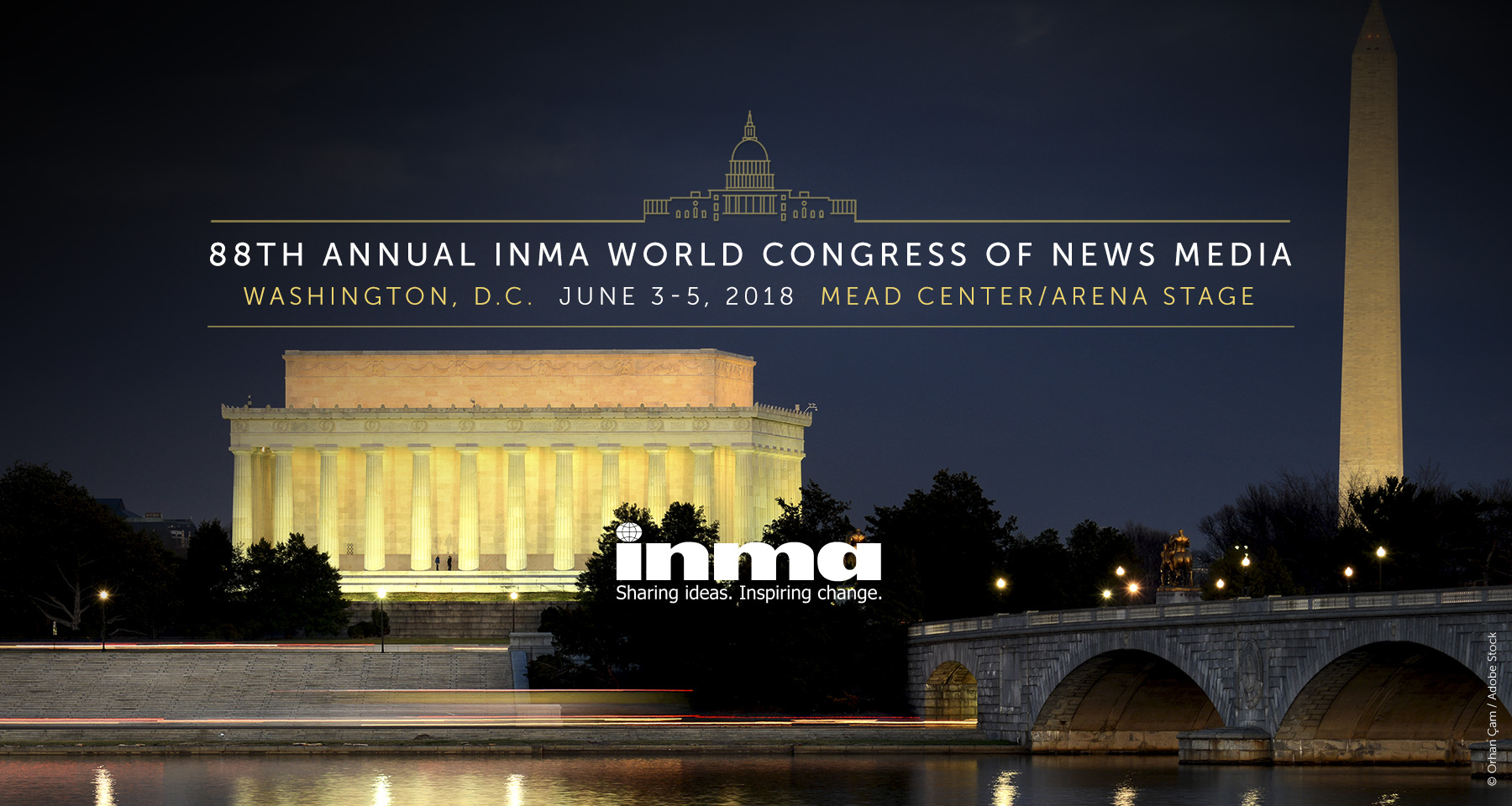 Washington selected as site of 2018 INMA World Congress of News Media