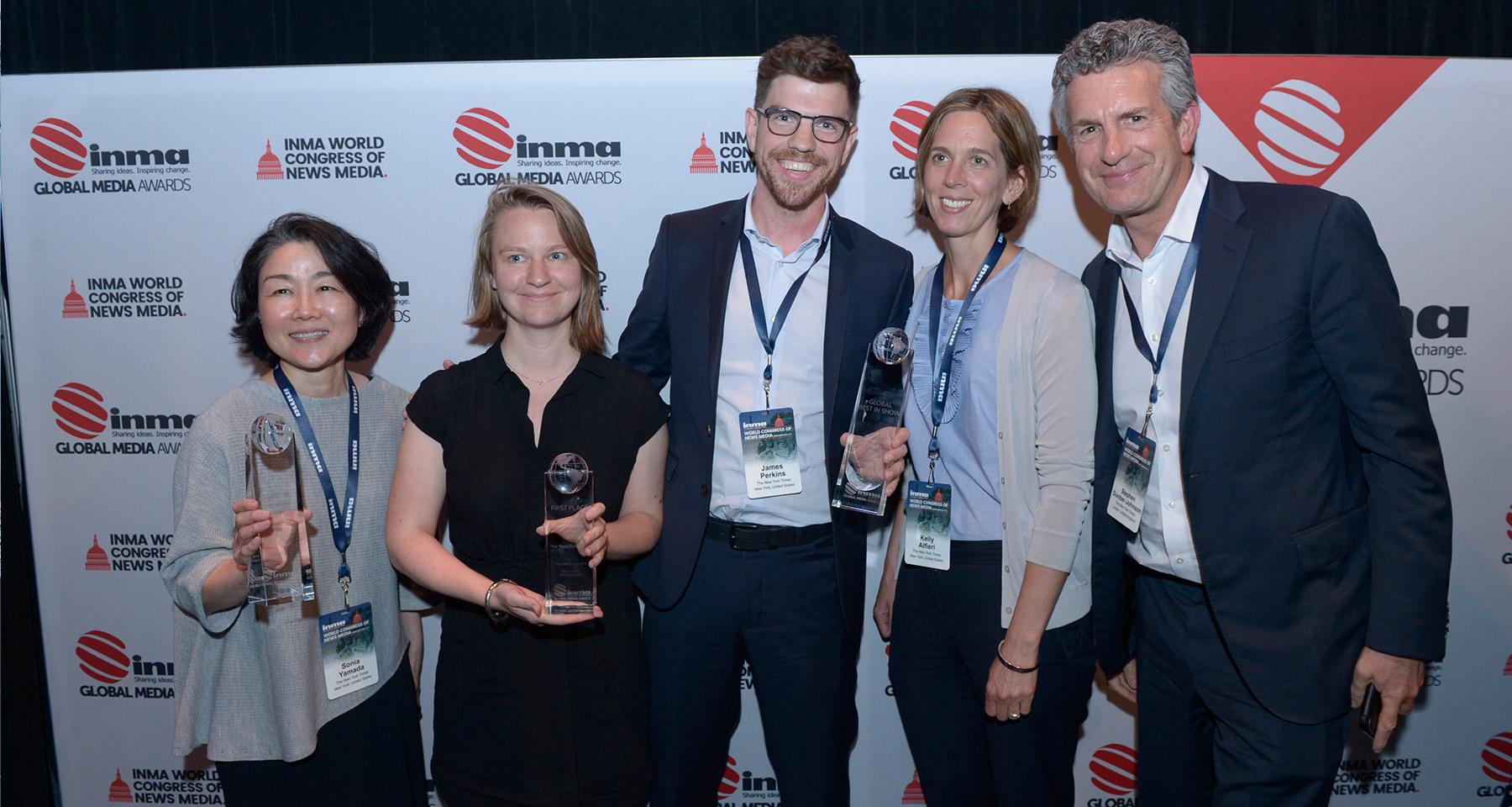 INMA reveals Global Media Awards winners, New York Times nabs top honour