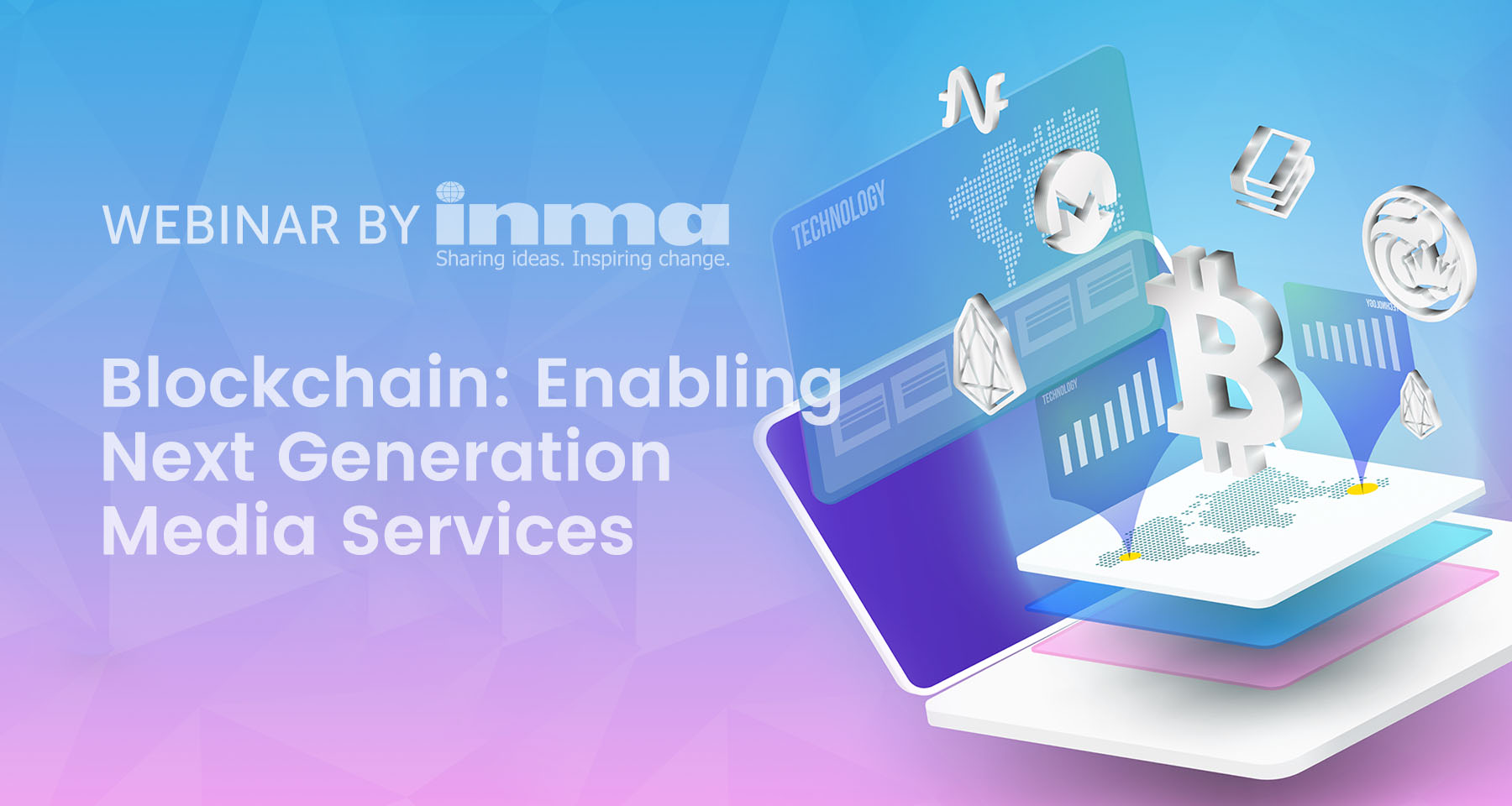 Upcoming INMA Webinar: Blockchain enables next generation media services