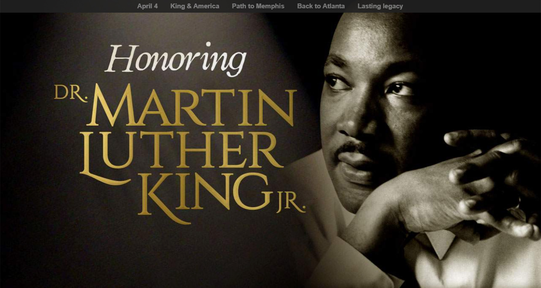 Atlanta Journal Constitution honours MLK, engages audience with integrated content effort