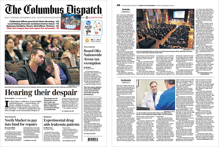 "The Columbus Dispatch's ""Silent Suffering"" engaged print and digital readers."