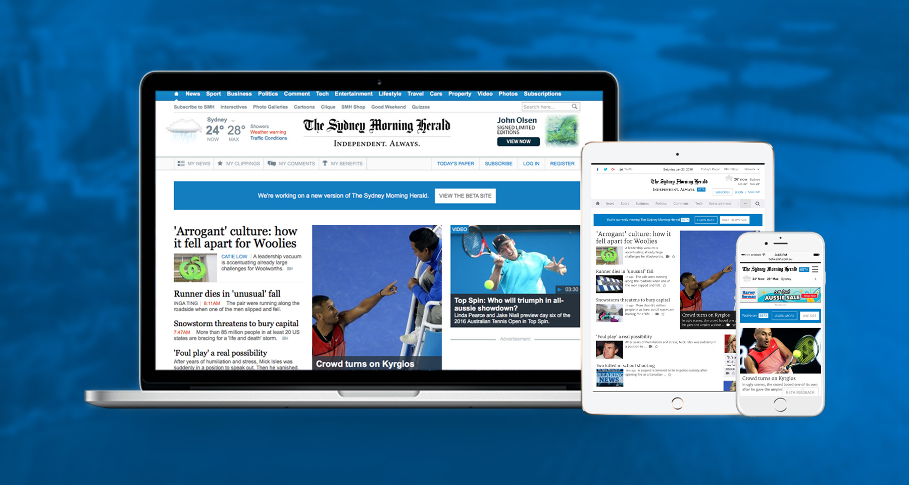 Fairfax Media designs to please 7 million readers with adaptive experience