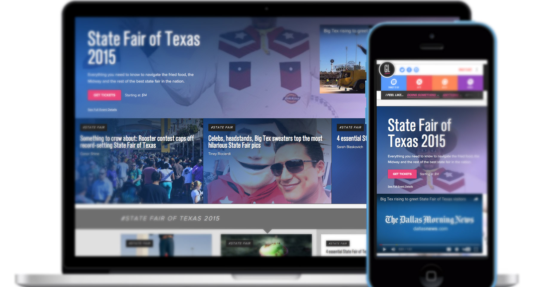 Dallas Morning News acts as start-up to reinvent entertainment brand
