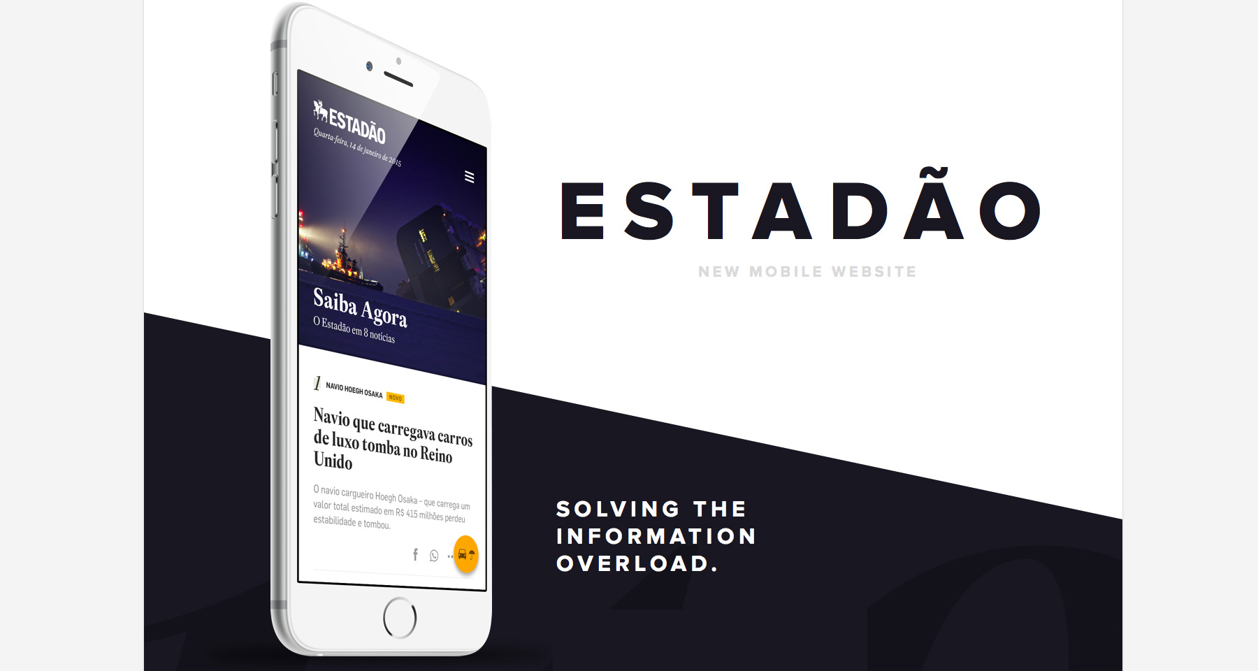 Estadão engages more mobile readers with geolocation, personalisation features