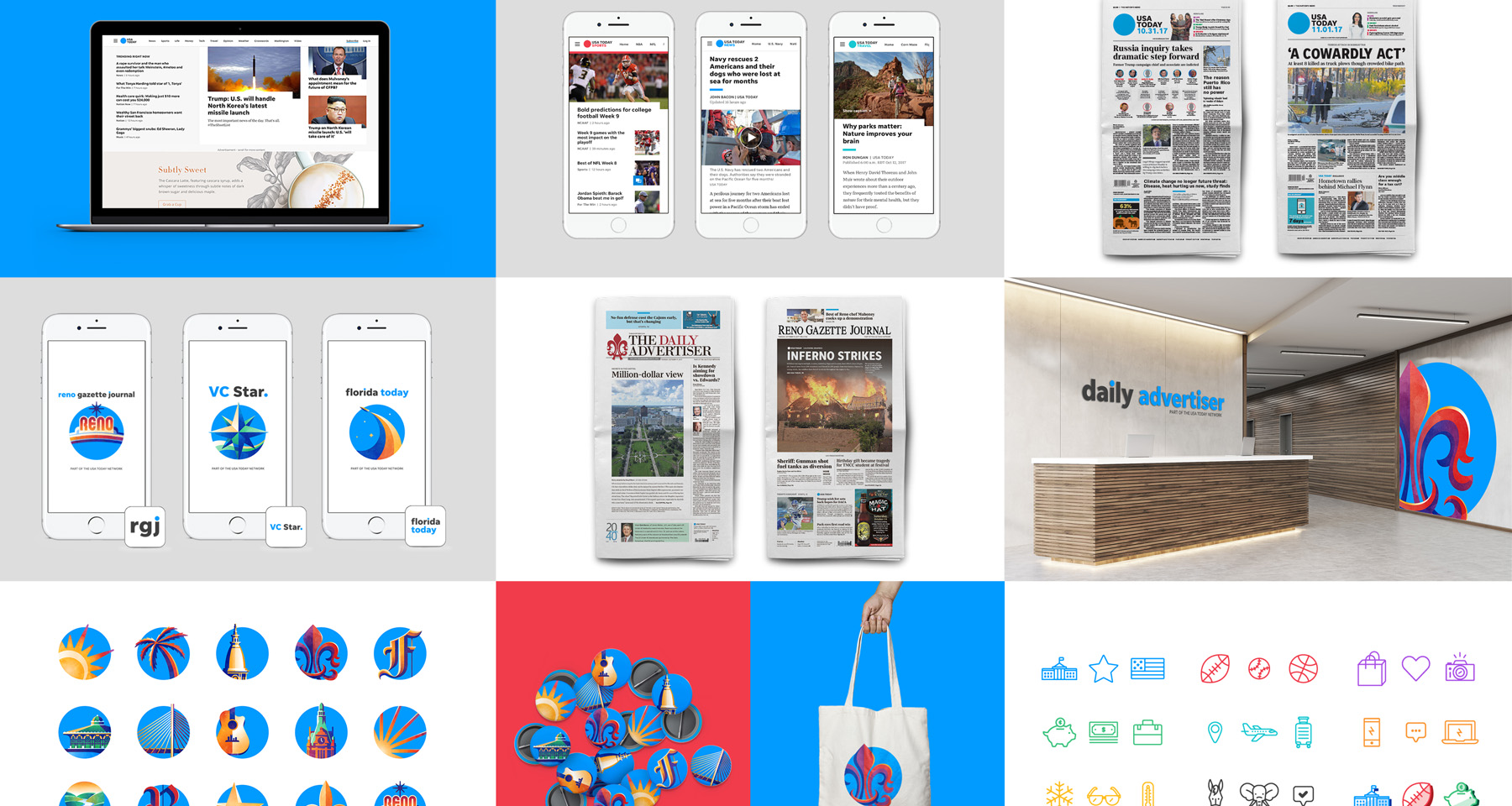 USA Today brand refresh unifies design nationwide, fosters cross-team collaboration