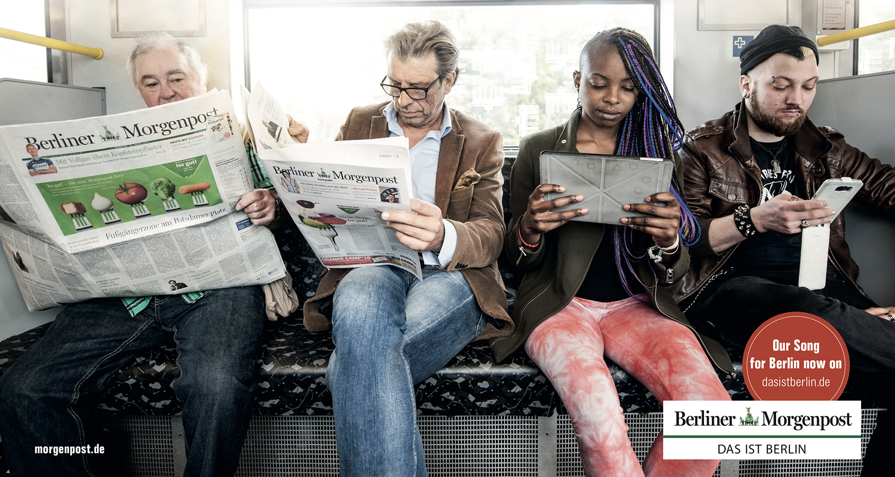 Berliner Morgenpost gives readers choice: tabloid or broadsheet