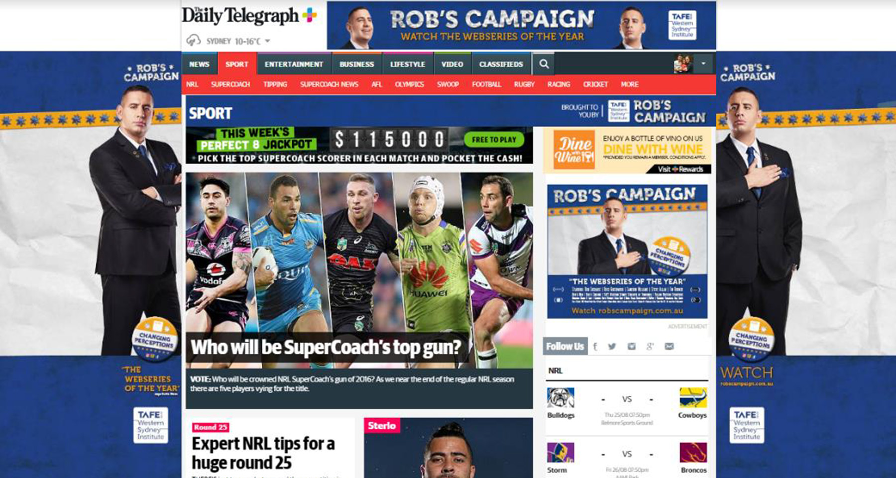 News Corp Australia video campaign garners attention for local university
